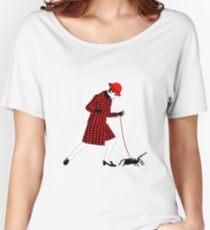 Op Art Spider Walker Women's Relaxed Fit T-Shirt