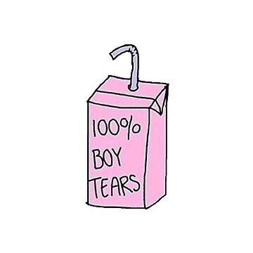 100% BOY TEARS  by vanessachammas