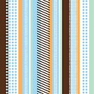 Negard-style striped pattern by fatdogcreatives