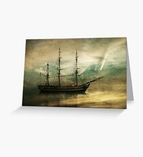 HMS Bounty Greeting Card