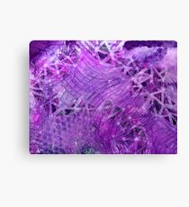 Darkened Dimensionality (ironic) Canvas Print