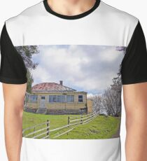Abandoned Farmhouse,  Tasmania, Australia Graphic T-Shirt