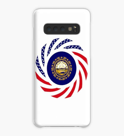 New Hampshire Murican Patriot Flag Series Case/Skin for Samsung Galaxy