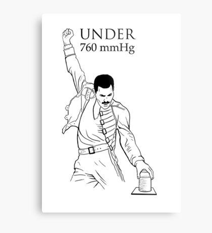Under Pressure Metal Print