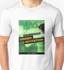 Dinner Invitation Book Cover T-Shirt