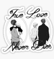 True Love Never Dies Sticker