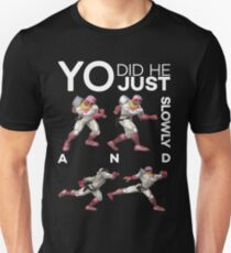 Yo, did he just walk up slowly and Down-Smash? - Super Smash Bros. Melee - Scar T-Shirt