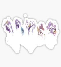 villians Sticker
