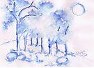 Trees in winter by Elizabeth Kendall