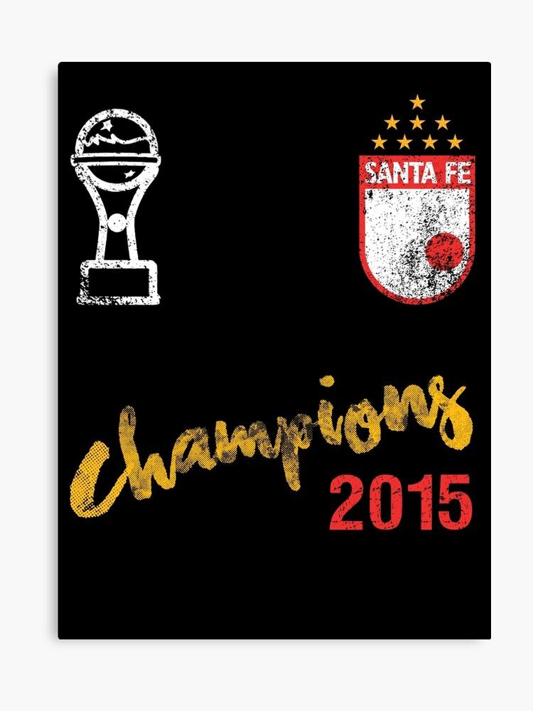 Canvas Santa Fe >> Independiente Santa Fe Colombia Canvas Print By Mqdesigns13