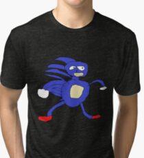 MLG Sanic Meme Tri-blend T-Shirt