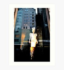 Angel Tara of Light, Maiden of NYC Art Print