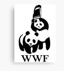 WWF parody Canvas Print