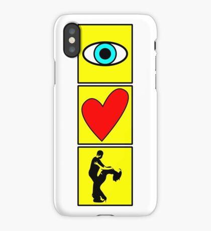 i love dance - pictogram iPhone Case