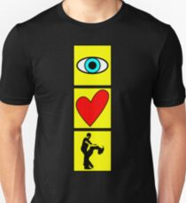 i love dance - pictogram Unisex T-Shirt
