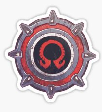 Gladiator Shield  Sticker