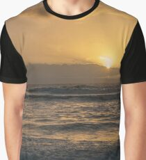 Sunset Over Wales Graphic T-Shirt