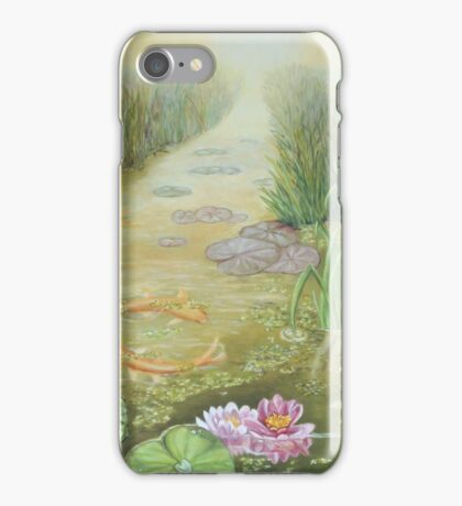 Painting Pisces  iPhone Case/Skin