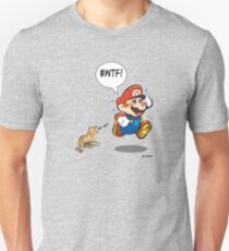 Mario chased by aggressive chihuahua! T-Shirt