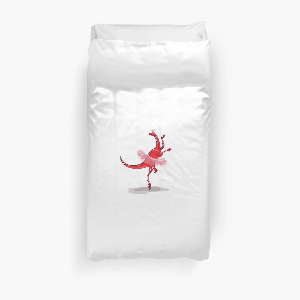 Illustration eines Ballerinatanzen-Raubvogels. Bettbezug