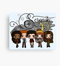 Firefly - Serenity and Crew Canvas Print