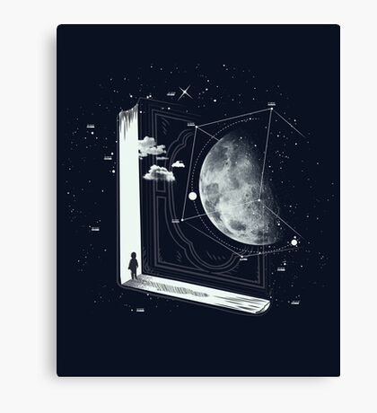New universe Canvas Print