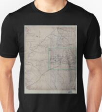 Civil War Maps 0771 Map of part of Fulton Fayette and Campbell counties from surveys state map and information 02 Unisex T-Shirt