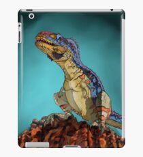 Majungasaurus, a theropod dinosaur from the Cretaceous Period. iPad Case/Skin