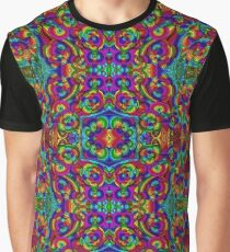 Psychedelic Abstract colourful work 20(Tile) Graphic T-Shirt