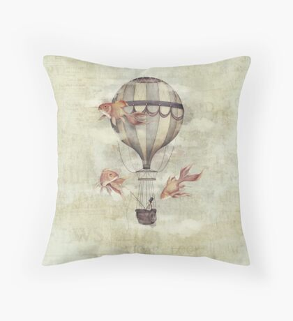 Skyfisher Throw Pillow