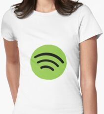 Spotify Women's Fitted T-Shirt