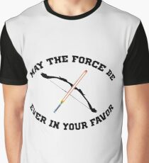 THE HUNGER GAMES MEETS STAR WARS Graphic T-Shirt
