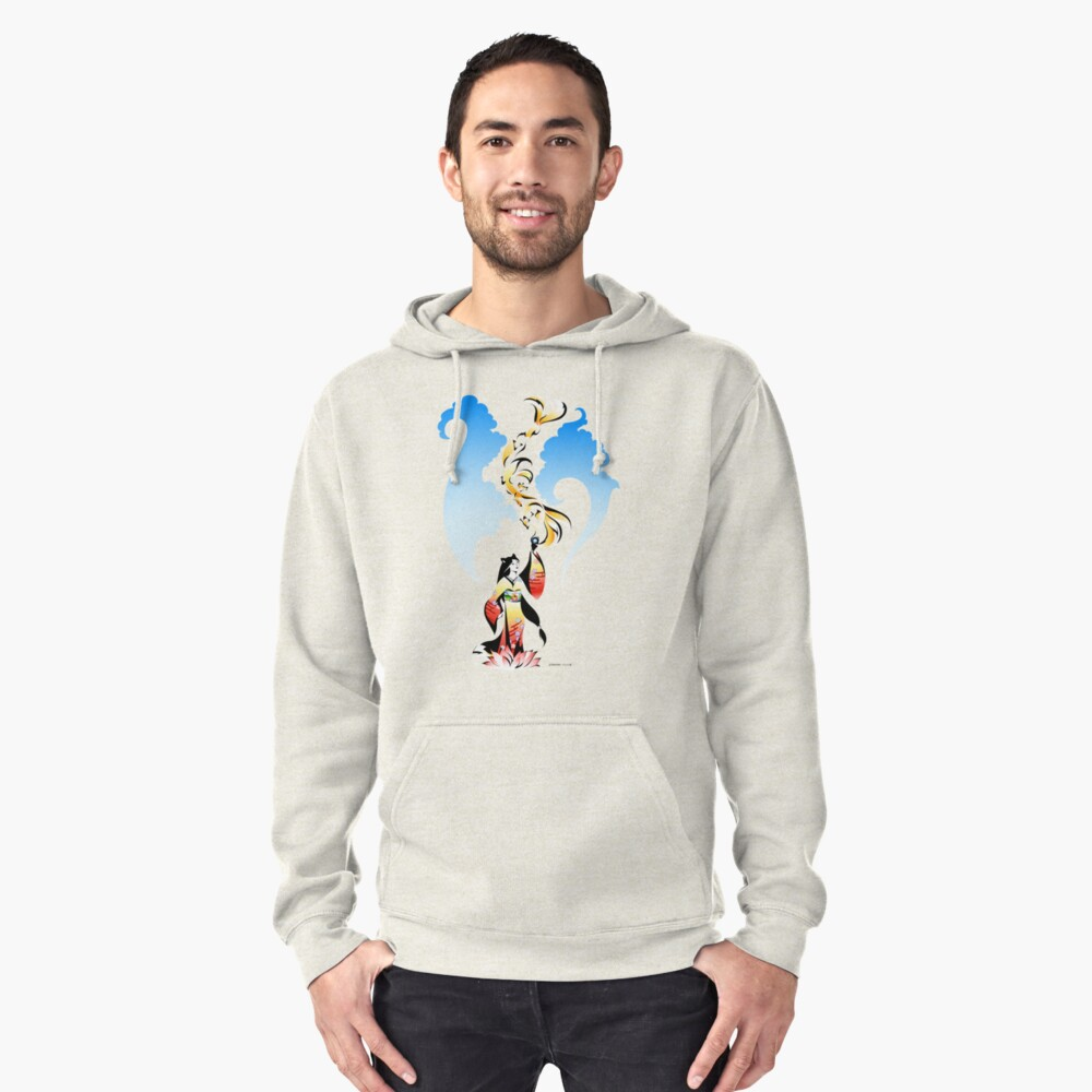 Kitsune Summon Pullover Hoodie Front