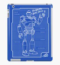 Blueprint design illustration ipad cases skins redbubble blueprint ipad caseskin malvernweather Image collections