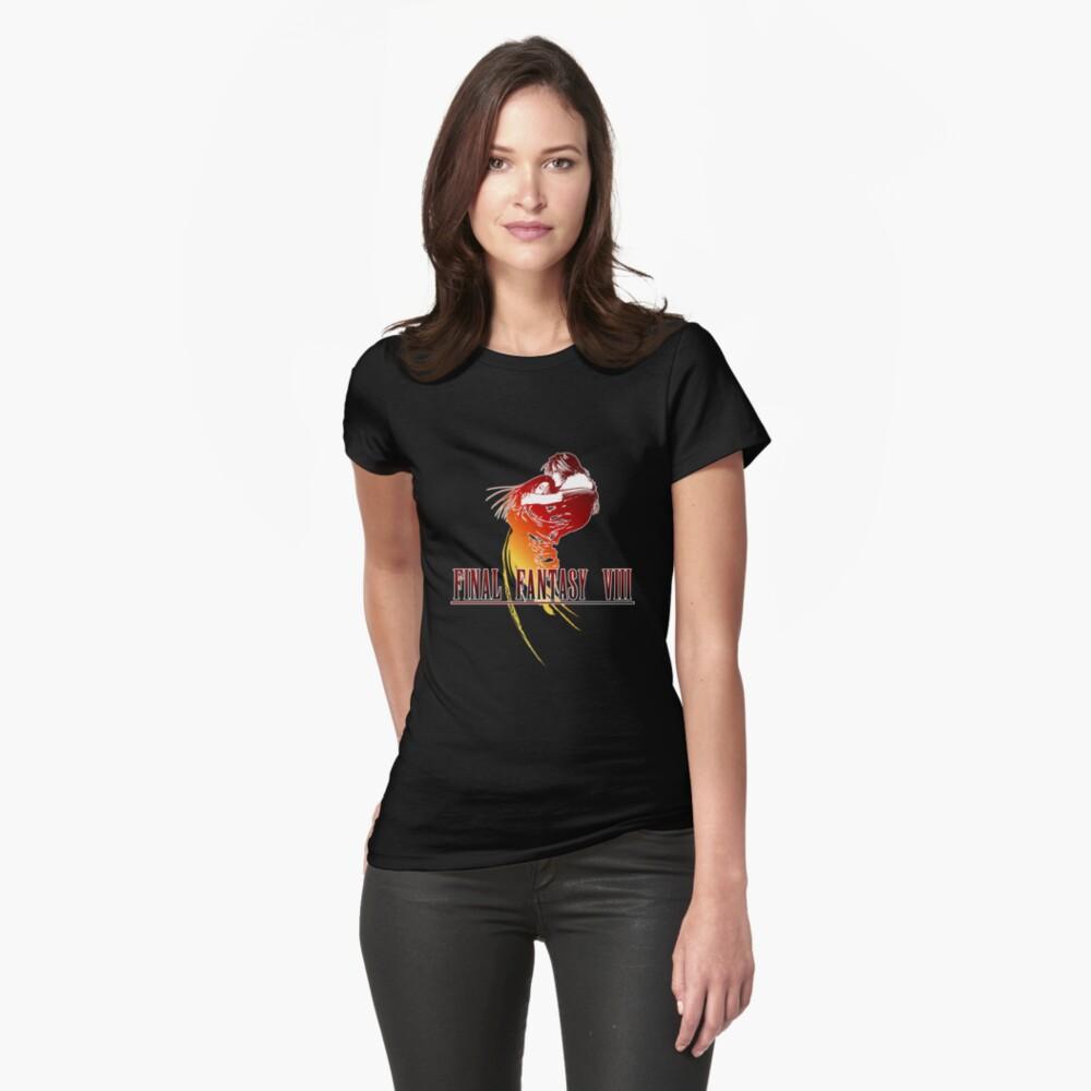 FF VIII Tailliertes T-Shirt
