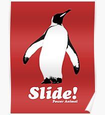 Fight Club Power Animal Slide T shirt Poster