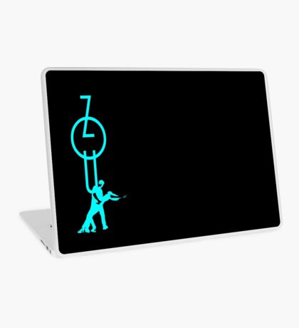 lets dance zouk - blue Laptop Skin