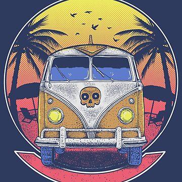 Beach Van by myoubi