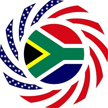 South African American Multinational Patriot Flag Series by carbonfibreme