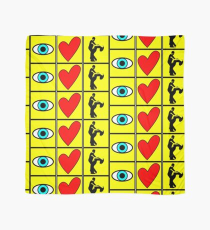i love dance - pictogram Scarf