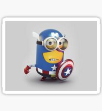 Captain Minion Sticker