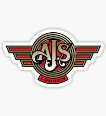 Classic British Motorcycle - AJS Sticker
