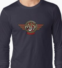 Classic British Motorcycle - AJS Long Sleeve T-Shirt