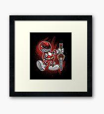 Vintage Red Ranger Framed Print