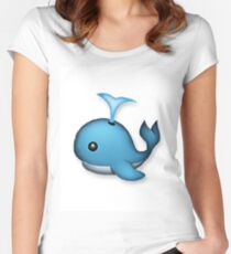 WHALE HELLO THERE Women's Fitted Scoop T-Shirt