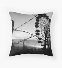 Chernobyl Throw Pillow