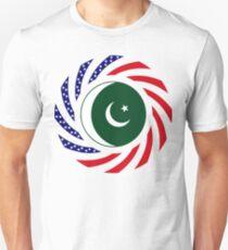 Pakistani American Multinational Patriot Flag Series T-Shirt
