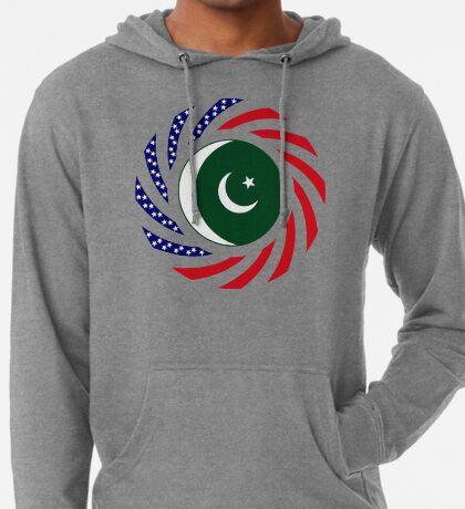 Pakistani American Multinational Patriot Flag Series Lightweight Hoodie