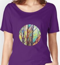 Girl climbing a tree painting - 2012 Women's Relaxed Fit T-Shirt