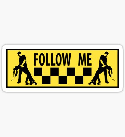 follow me dancer Sticker